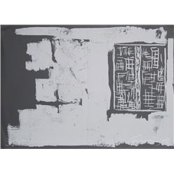 Gunther Forg, To the Builders 1, Serigraph