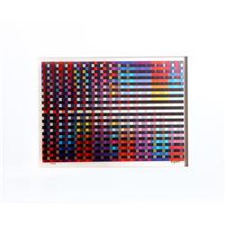 Yaacov Agam, Birthday Rainbow, Agamograph