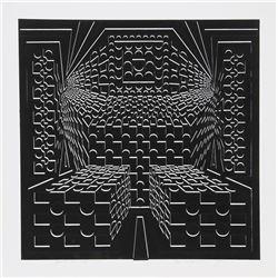 Roy Ahlgren, Desert Icon VI, Silkscreen