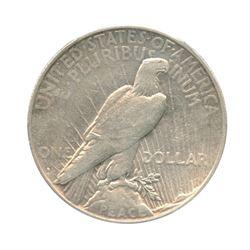 1934-S $1 Peace Silver Dollar - PCGS VF35