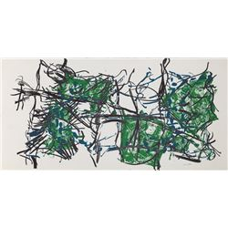 Jean-Paul Riopelle, Untitled 2, Lithograph
