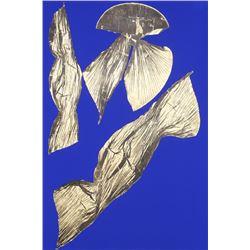 Lynda Benglis, Dual Nature Large (Blue), Lithograph