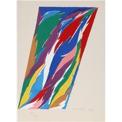 Piero D'Orazio, Untitled 3, Silkscreen