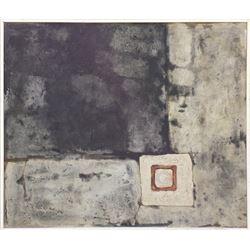 Lou Fink, Asphalt, Oil Painting