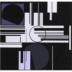 Gunter Fruhtrunk, untitled 2, Silkscreen