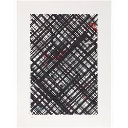 Ed Moses, untitled 2, Lithograph