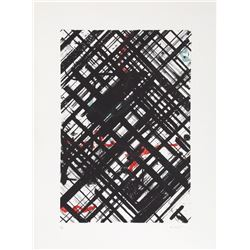 Ed Moses, untitled 3, Lithograph