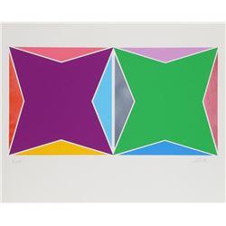 Larry Zox, Peace, Silkscreen