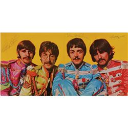 Beatles Signed 'Sgt. Peppers' Album: McCartney, Harrison, and Starr