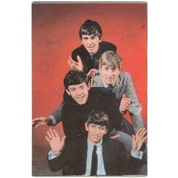 Beatles Signed PYX Magazine