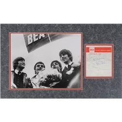 Beatles Signatures: McCartney, Harrison, and Nicol