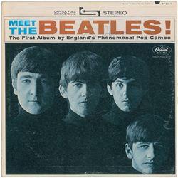 John Lennon Signed 'Meet The Beatles' Album