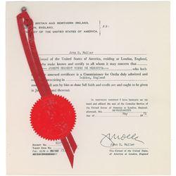 John Lennon Signed Deposition
