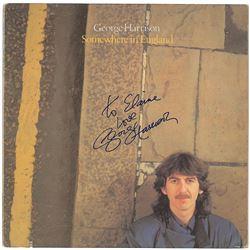 George Harrison Signed Album