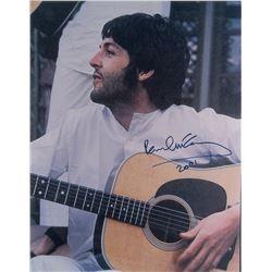 Paul McCartney Signed Photograph