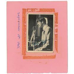 Paul McCartney Signed Bubble Gum Card