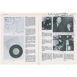 Paul and Linda McCartney Signed Catalog