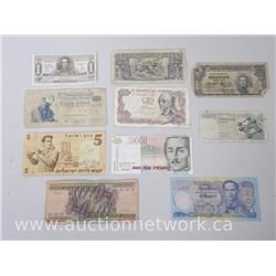 Lot of (10) World Bank Notes