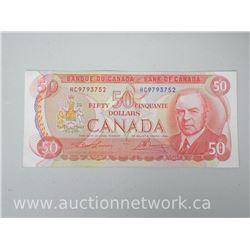 Bank of Canada 1975 $50 Note HC9793752 Lawson/Bowey