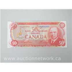 Bank of Canada 1975 $50 Note HB6502931 Lawson/Bowey
