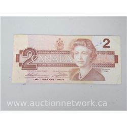 Bank of Canada $2 Replacement Note EBX1754051