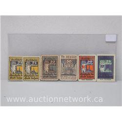 Lot of (6) Notgeld Paper Money