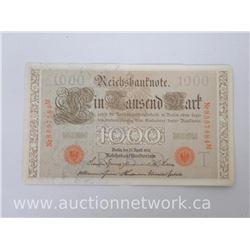Reichsbanknote 1000 Mark
