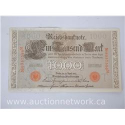 Reichsbanknote 1000 Mark