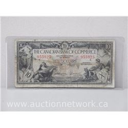 The Canadian Bank of Commerce Ten Dollars $10.00 (Jan.2nd,1935)