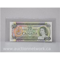 Bank of Canada $20.00 Twenty Dollars 1969 Lawson/Bowey