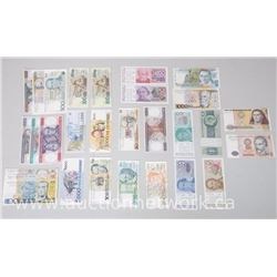 29pc Lot of World Paper Money
