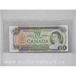 Bank of Canada $20.00 Twenty Dollars 1969 Beattie/Rasminsky