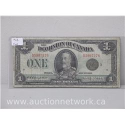 The Dominion of Canada $1.00 Fine Note 1923