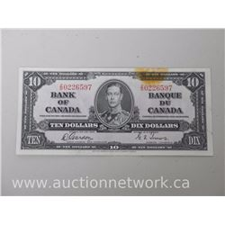 Bank of Canada $10.00 Jan. 1937 Z/D Gordon/Towers