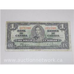 Bank of Canada $1.00 N/N 1937 Coyne/Towers Note