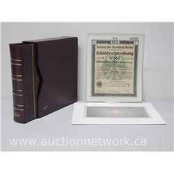 """Unique German """"Notgeld"""" Note Collection Circa 1920"""