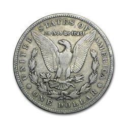1902-S $1 Morgan Silver Dollar VG