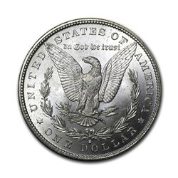 1880-S $1 Morgan Silver Dollar AU