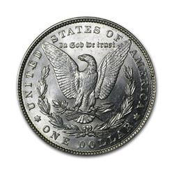 1889 $1 Morgan Silver Dollar Uncirculated