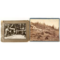 Two Nevada County Mining Photographs