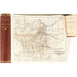 The Mines of Colorado (1867 Mining Reference w/ folding map)