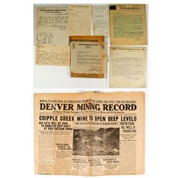 Colorado Mining Letters & Advertising Covers