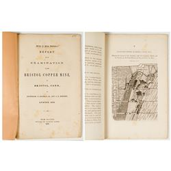 Report on The Bristol Copper Mine by Benjamin Silliman Jr. and J.D. Whitney