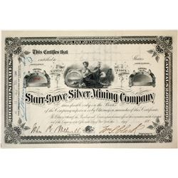 Starr-Grove Silver Mining Company Stock Certificate
