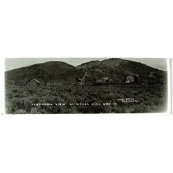 Never-Before-Seen Mineral Hill, Nevada Panoramic Photo Postcard
