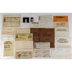 Large Nevada Mining Archive