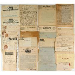 George Vigouroux Correspondence Collection (Creator of Mines Manual)