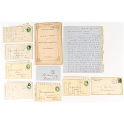 Pennsylvania Mining Correspondence and One Annual Report