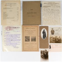 Homestake Mining Company Reports and Letters