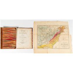 1818 Geologic Map of America (William McClure)